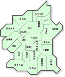 内 地図 市 大阪